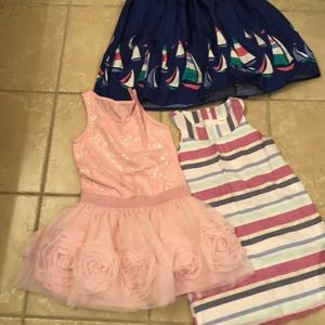 Gymboree n children's place size 6 EUC dress